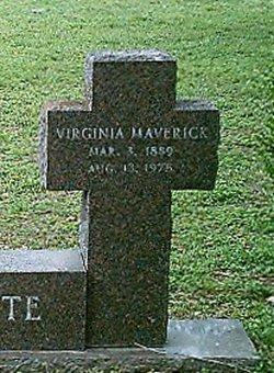 Virginia <i>Maverick</i> Crossette