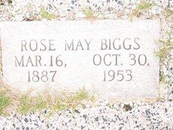 Rosa May <i>Garrard</i> Biggs