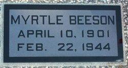 Myrtle A <i>Schenck</i> Beeson