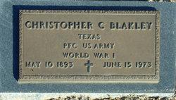 Christopher C Blakley