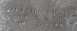 Mary Frank Huff