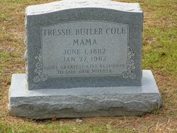 Tressie <i>Butler</i> Cole