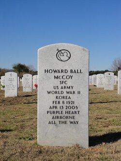 Howard B McCoy