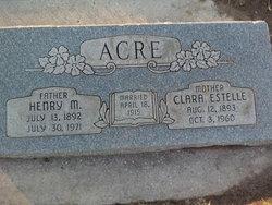 Clara Estell <i>Long</i> Acre
