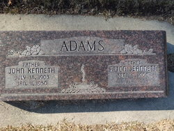 Afton Jeannett <i>Peterson</i> Adams