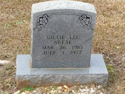 Gillia Lee Gillie <i>Russell</i> Neese