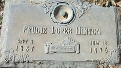 Prudie <i>Loper</i> Hinton