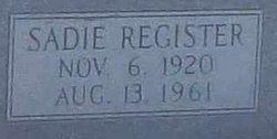 Sadie <i>Register</i> Barton