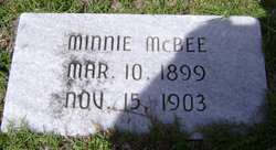 Minnie McBee