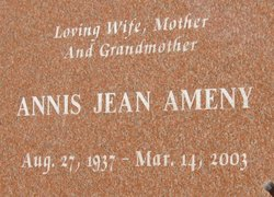 Annis Jean Ameny