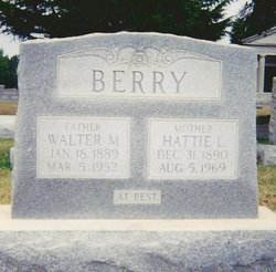 Hattie Lee <i>Dillon</i> Berry