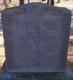 Elizabeth B <i>Winslow</i> Canedy
