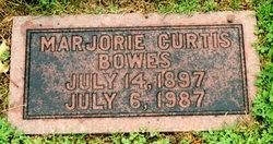 Marjorie <i>Curtis</i> Bowes