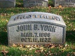 John Boldenweck York