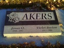 Violet <i>Beeton</i> Akers