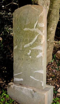 Mary M. <i>Smith</i> Brooks
