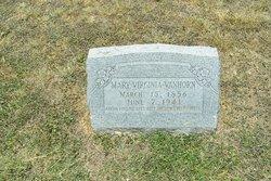 Mary Virginia <i>Payne</i> Vanhorn
