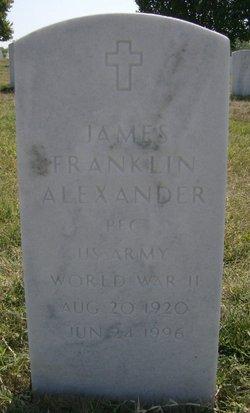 PFC James Franklin Alexander