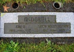 Verna Lela <i>Chapman</i> McDowell
