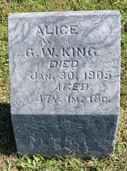 Alice <i>Gray</i> King