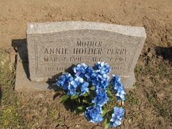 Annie <i>Holder</i> Perry