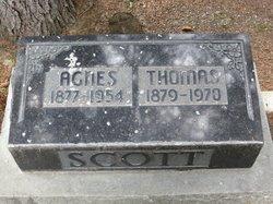 Agnes <i>Umpherson</i> Scott