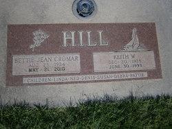 Bettie Jean <i>Cromar</i> Hill