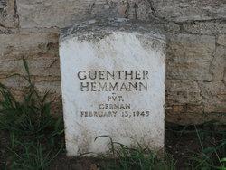 Guenther Hemmann