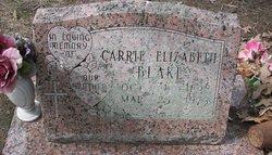 Carrie Elizabeth <i>DeBerry</i> Blake