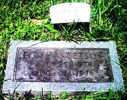 Ella J Ellijay <i>Woodward</i> Anderson