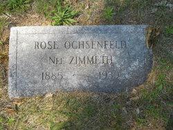 Rose Ann <i>Zimmeth</i> Ochsenfeld