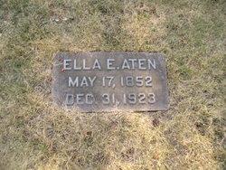 Eleanor Elizabeth Ella <i>Wilson</i> Aten