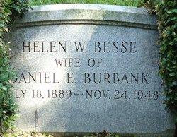 Helen W. <i>Besse</i> Burbank