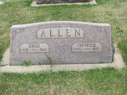 Gertrude <i>Burnaugh</i> Allen
