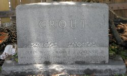 Gwendolyn Gwennie <i>Brown</i> Crout