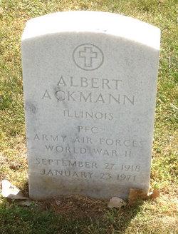 Albert Ackmann