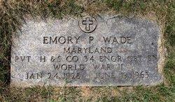 Emory P. Wade