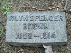 Ruth Cooper <i>Spencer</i> Brown