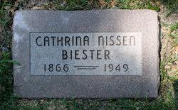 Cathrina <i>Nissen</i> Biester