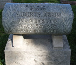 Augusta <i>Schoenrock</i> Debus