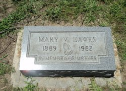 Mary V Dawes