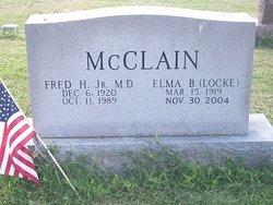 Elma B. <i>Locke</i> McClain