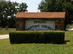 Spring Baptist Church Cemetery