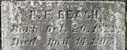 Benjamin Frederick Beach