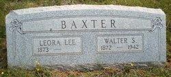 Walter S Baxter