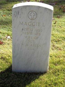 Maggie Lee <i>Clark</i> Allen