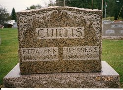 Etta Ann <i>Richardson</i> Curtis