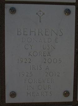 Donald E Behrens