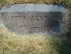 Martha Anne <i>Byars</i> Jones