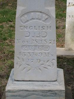 Mary <i>Morrison</i> English